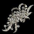 Vintage Style Rhinestone Crystal Jewelry Wedding Brooch Pin