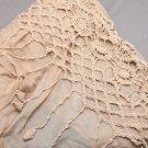 Woman Fashion Crochet Flower Pink Yellow Grey Soft Shawl Scarf