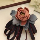Black Blue Watermelon Flower Tie Women Accessories Bow Collar Fashion Brooch Pin