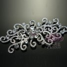 Vintage Style Flower Rhinestone Crystal Wedding Bridal Dress Brooch Pin Jewelry