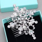 Rhinestone Pearl Headpiece Crystal Hair Comb Bridal Wedding Accessories