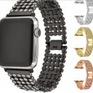 New Replacement Apple Watch Crystal Stainless Steel Watch Band Strap 38/42M