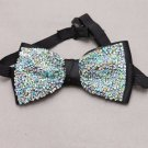Rhinestone Crystal Bow Tie Wedding Pre Tied  Party Men Necktie