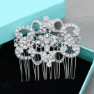 Vintage Crystal Hair Comb Wedding Headpiece Accessories Rhinestone Jewelry