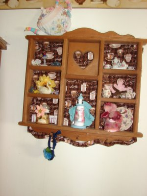 Hanging Display for Collectibles