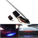 48 SMD RGB LED Strip Light 22 Inches & RC Remote Control For Mazda Acura Honda Nissan Toyota Subaru