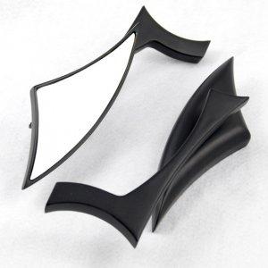 Custom Black Blade Billet Side Mirrors for Yamaha Road Royal V Star Warrior XV Virago Free Shipping