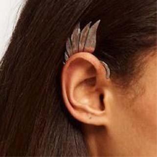 Wing Ear Cuff Earring II Tak Fung Hong Hk