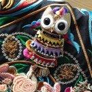 Handmade Ooak Embroidery Owl Handbag Tak Fung Hong Hk