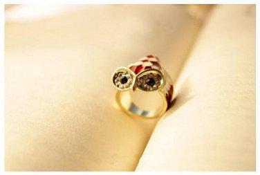 Handmade Small Gold Fish Ring Tak Fung Hong Hk