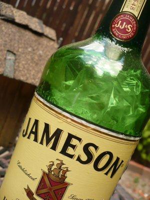 """Altered Jameson Bottle - """"Jameo Jumble"""""""