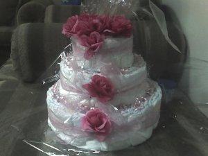 3 TIER PINK CAKE