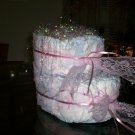PINK BABY BOOTIE CAKE