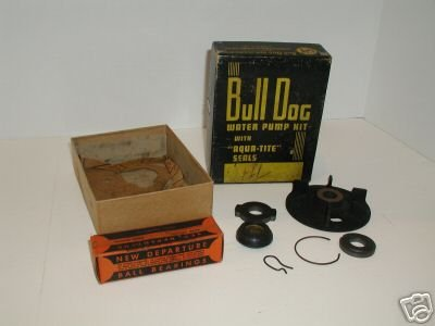 Bull Dog Water Pump Kit Aqua Tite Seal 1937 Pontiac NIB
