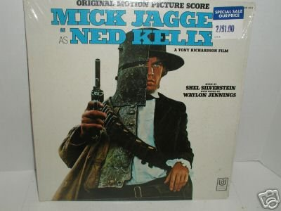 MICK JAGGER AS NED KELLY RECORD ALBUM - FACTORY SEALED