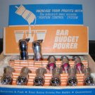 Bar Metal Pourer Budget Bottle Pourers Lot of 11