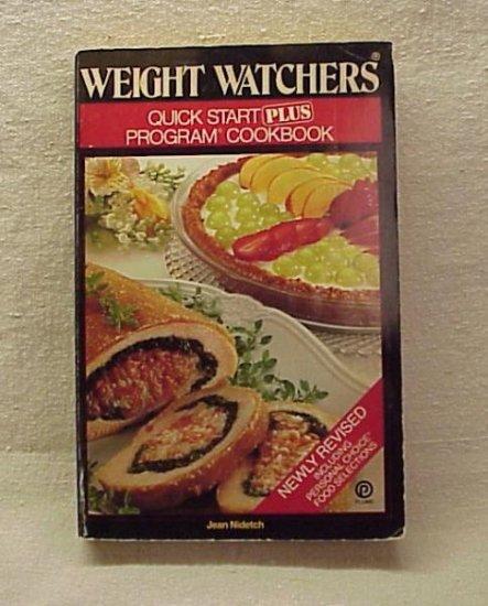 Weight Watchers Quick Start Plus Cookbook - Memory Lane Collectibles