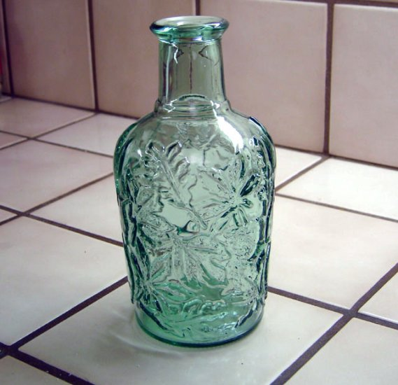 Beautiful Green Bottle made in Canada - Memory Lane Collectibles