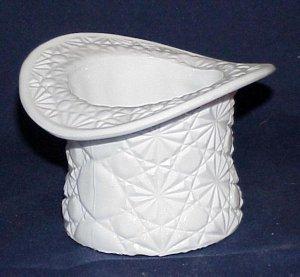 Fenton Milk Glass Daisy & Button Hat - Memory Lane Collectibles