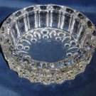 Elegant Crystal Glass Ashtray  - Memory Lane Collectibles