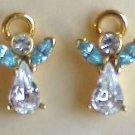 Angel Earrings - Post Back  - FREE SHIPPING - Memory Lane Collectibles