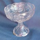 Small Clear Glass Compote or Candy Dish - Memory Lane Collectibles