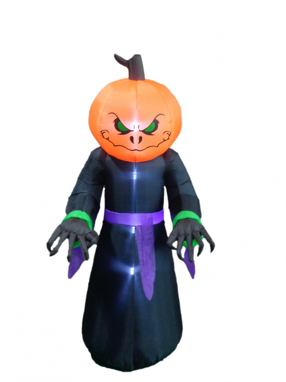 8 Foot  Halloween Inflatable Pumpkin Ghost Decoration #270
