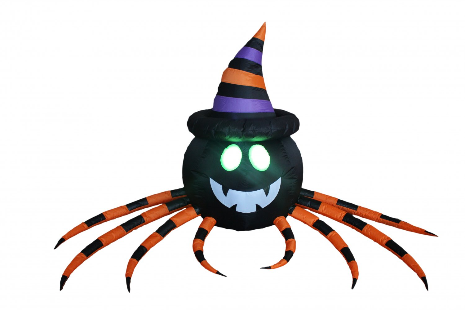 8 Foot Long Halloween Inflatable Spider with Hat Decoration #295