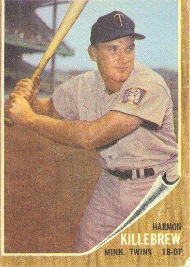 '62 Harmon Killebrew Topps  #70 - Twins