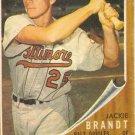 '62 Jackie Brandt -  Topps -  #165 - Orioles