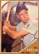 '62 Bill Tuttle - Topps #298 - Twins