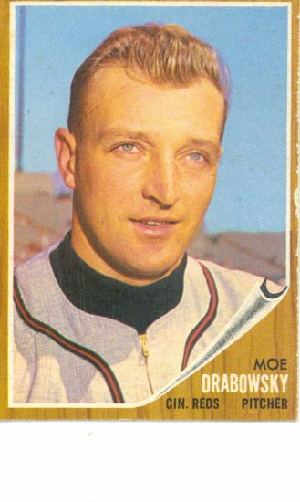 '62 Moe Drabowsky - Topps#331 - Reds