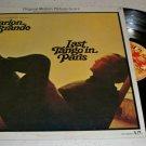 Last Tango In Paris Marlon Brando Soundtrack Vinyl Record LP Album UA-LA045-F