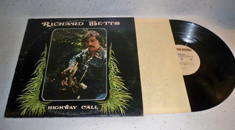 Almann Brothers Richard Betts Rare Highway Call LP Record G