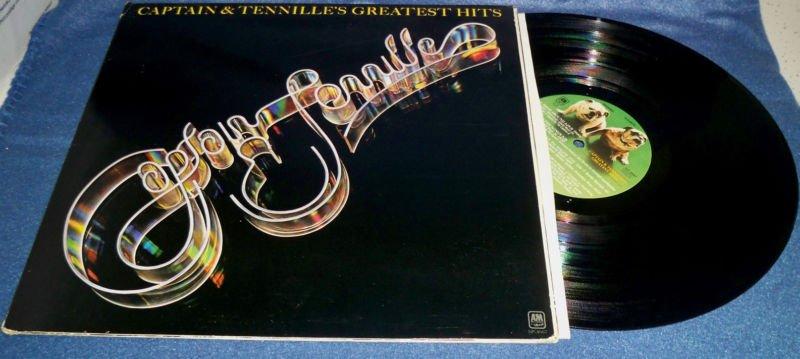 CAPTAIN & TENNILLE'S GREATEST HITS LP VINYL RECORD SP-4667 1977 VG+ /VG+