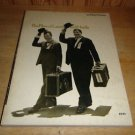 "THE FILMS OF LAUREL AND HARDY SOFTCOVER BOOK WILLIAM EVERSON 8 1/2"" x 11"""