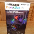 Gemmy LED Light Show Projection MULTICOLOR GHOSTS Halloween Light Whirl-A-Motion