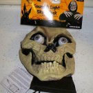 Sound & Light Skull Halloween Mask with Light Up Eyes and 3 Sound Effects NEW