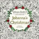 Johanna's Christmas: A Festive Coloring Book for Adults Johanna Basford New