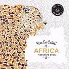 Vive Le Color! Africa Adult Coloring Book De-stress 72 Tear-out Pages New