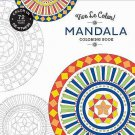 Vive Le Color Mandala Adult Coloring Book 72 Tear-out Pages New