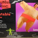 Inflatable Sumo Wrestler Costume Adult Inflatable Costume One Size Battery Power