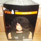 Halloween Black Rocker Wig Adult Size