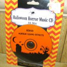 Halloween Horror Music and Sounds Effects Cd 60 Min New