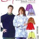 M4639 McCall Pattern EASY STITCH'N SAVE Jackets Misses /  Mens Size B  XL, XXL