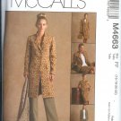M4663 McCalls NON-STOP WARDROBE  Jacket,Top,Pants,Skirt  Misses/Miss Petite  Size FF 16-18-20-22