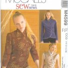 M4599 McCalls Pattern Unlined Vest and Jacket in Two Lengths Misses Size CCD 10-12-14-16