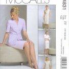 M4831 McCalls DRESS ALTERNATIVES Jacket,Dress Tie Belt, & Skirt Misses/Miss Petite Size 16,18,20,22