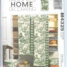 M4325 McCalls Pattern LAURA ASHLEY  Home Decorating