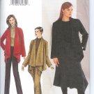V7640 Vogue Pattern  Jacket, Skirt, Pants Miss Size 14, 16, 18